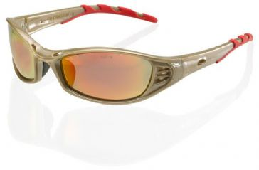 B-Brand Florida Safety Spectacles (Red Mirror)